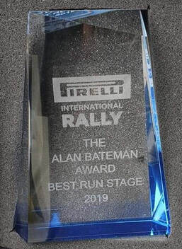 in 2019 Team JJ MC Stage Commander Neville Simmons won the best ran stage for the Roughside stage.